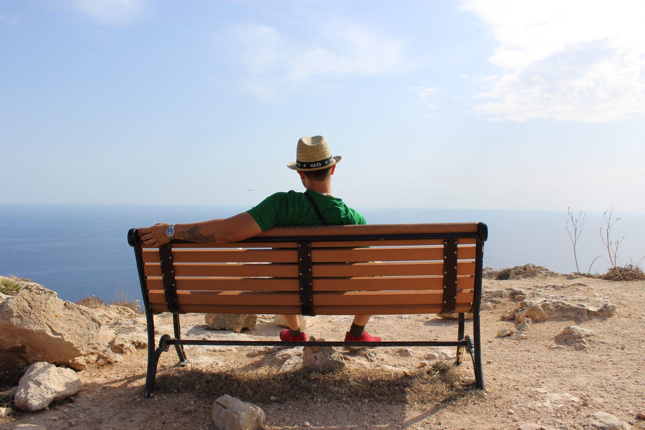 Bench in Malta